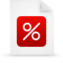 file document paper red g12908 Png Icon