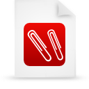 file document paper red g12946 Png Icon