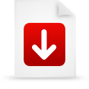 file document paper red g13247 Png Icon