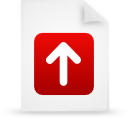 file document paper red g13271 Png Icon
