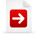 file document paper red g13283 Png Icon