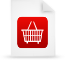 file document paper red g13303 Png Icon