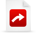 file document paper red g13424 Png Icon