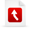 file document paper red g13436 Png Icon