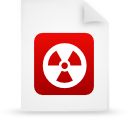 file document paper red g13443 Png Icon