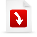 file document paper red g13460 Png Icon