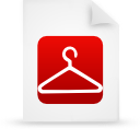 file document paper red g13861 Png Icon