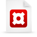 file document paper red g14039 Png Icon