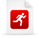 file document paper red g14294 Png Icon