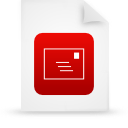 file document paper red g14528 Png Icon