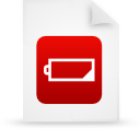 file document paper red g14594 Png Icon