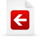 file document paper red g14808 Png Icon