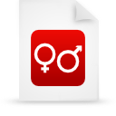 file document paper red g14881 Png Icon