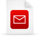 file document paper red g14977 Png Icon