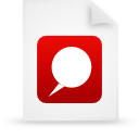 file document paper red g15124 Png Icon