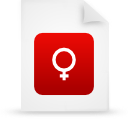 file document paper red g15139 Png Icon