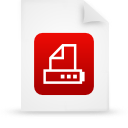 file document paper red g16043 Png Icon