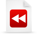 file document paper red g17253 Png Icon