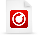 file document paper red g18390 Png Icon