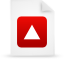 file document paper red g20814 Png Icon