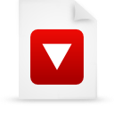 file document paper red g20826 Png Icon