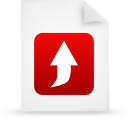 file document paper red g21034 Png Icon