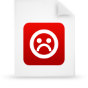 file document paper red g21251 Png Icon