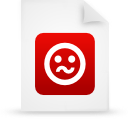 file document paper red g21273 Png Icon