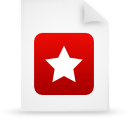 file document paper red g21455 Png Icon