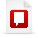 file document paper red g21731 Png Icon