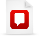 file document paper red g21743 Png Icon