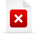 file document paper red g37966 Png Icon
