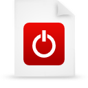file document paper red g38420 Png Icon