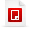 file document paper red g38462 Png Icon