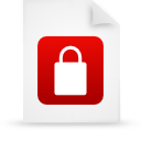 file document paper red g38481 Png Icon