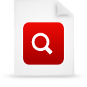 file document paper red g38774 Png Icon