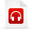file document paper red g39009 Png Icon
