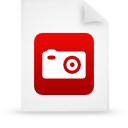 file document paper red g39046 Png Icon