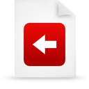 file document paper red g39182 Png Icon