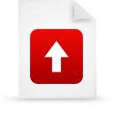 file document paper red g39198 Png Icon