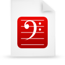 file document paper red g8620 Png Icon