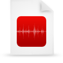 file document paper red g8769 Png Icon