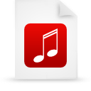 file document paper red g9624 Png Icon
