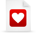 file document paper red g9660 Png Icon