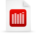 file document paper red g9845 Png Icon