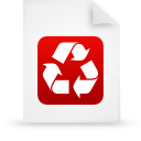 file document paper red g9937 Png Icon