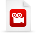 file document paper red g9948 Png Icon
