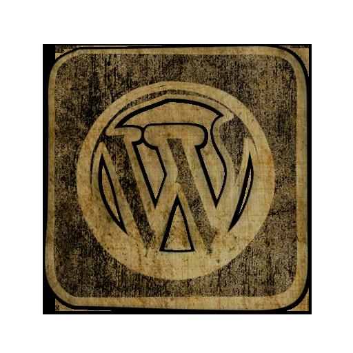 wordpress large png icon