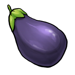 eggplant emoticon - photo #20