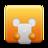 textwhite large png icon
